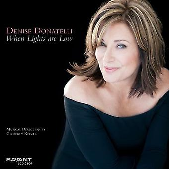 Denise Donatelli - When Lights Are Low [CD] USA import