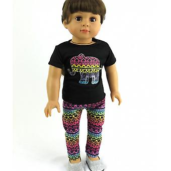 18「人形服部族象パンツ セット