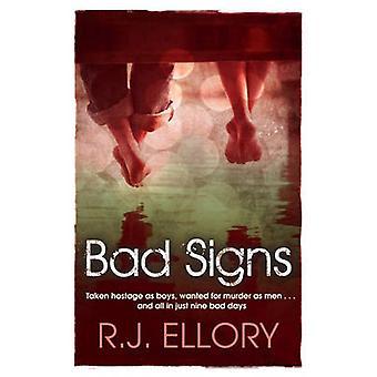 Schlechte Zeichen von R. J. Ellory - 9781409118596 Buch