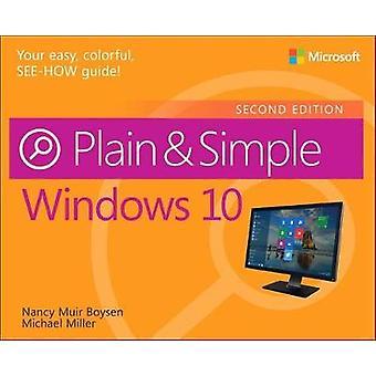 Windows 10 Plain & Simple by Nancy Muir Boysen - 9781509306732 Book