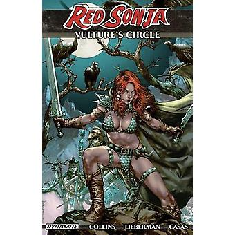 Red Sonja - Vulture's Circle by Nancy A. Collins - Fritz Casas - Walte
