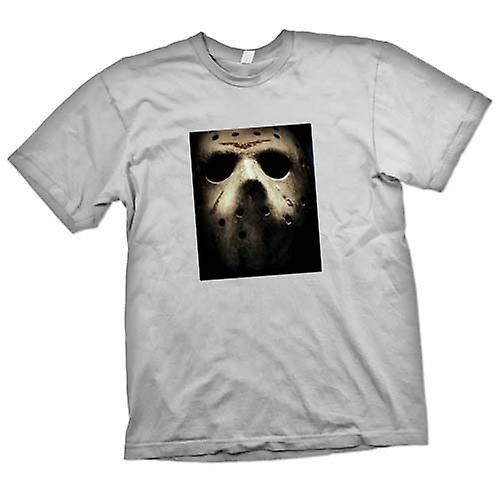 Mens T-shirt-Freitag Th Hocky Maske Horror