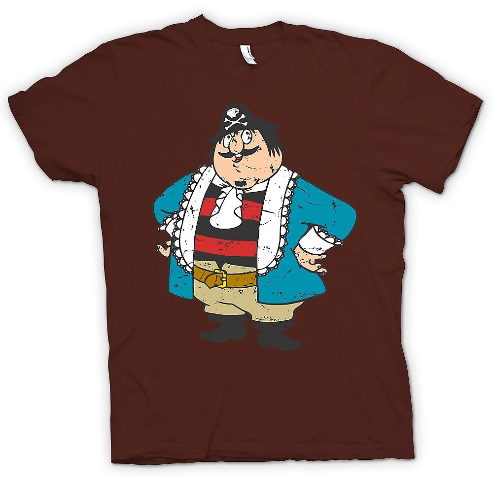 Herr T-shirt - Kapten Pugwash Cartoon - Retro