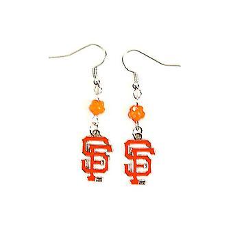 San Francisco Giants MLB Sophie Style Dangle Earrings