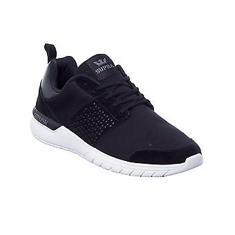 Supra Black-Charcoal Scissor Shoe