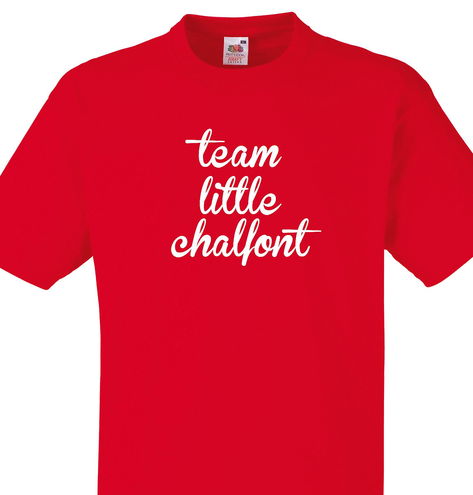 Team Little chalfont Red T shirt