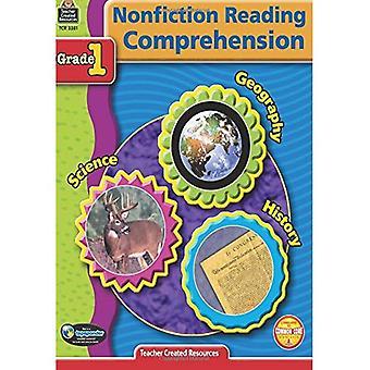 Nonfiction Reading Comprehension: Grade 1