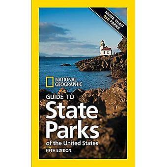 Guía geográfica nacional a los parques de estado de los Estados Unidos, 5ª edición