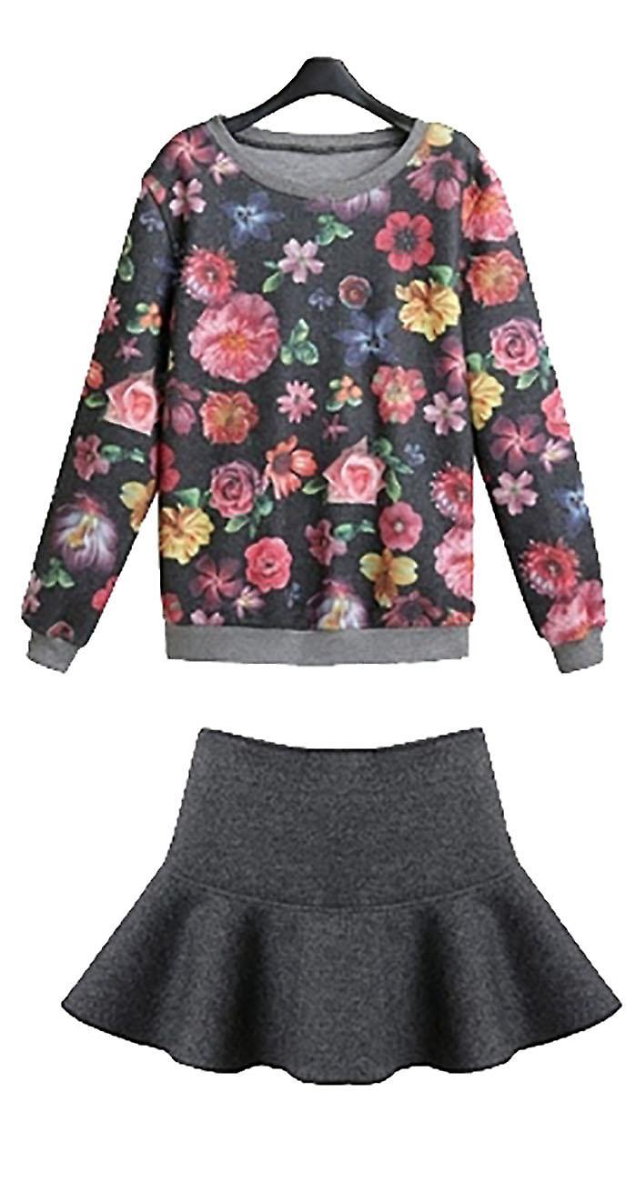Waooh - pull together floral skirt Shonty