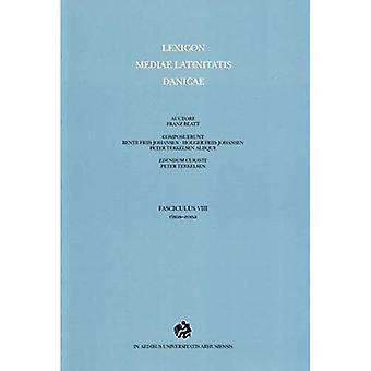 Lexicon Mediae Latinitatis Danicae: 8 -- risus-zona