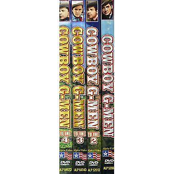 Cowboy G-Men Collection : Vol. 1-4 [DVD] USA import