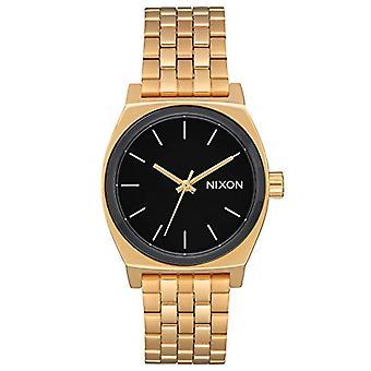 Nixon Time Teller-Medium 31 mm Gold/Black/White-Womens watches
