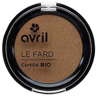 Avril certificada orgánica sombra - irise Noisette