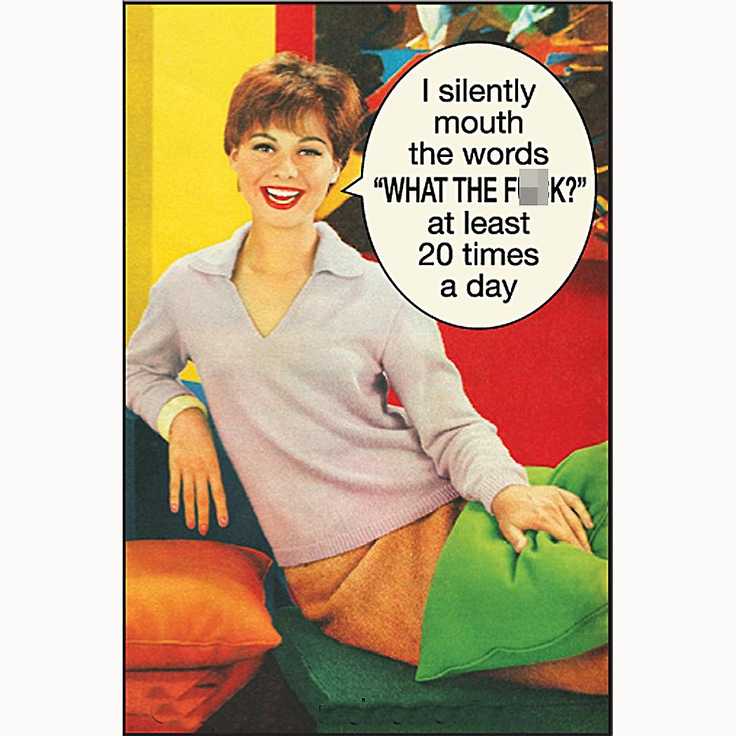 I Silently Mouth The Words