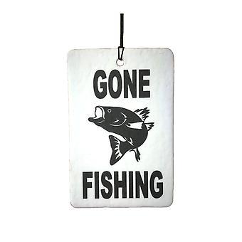 Gone Fishing Car Air Freshener