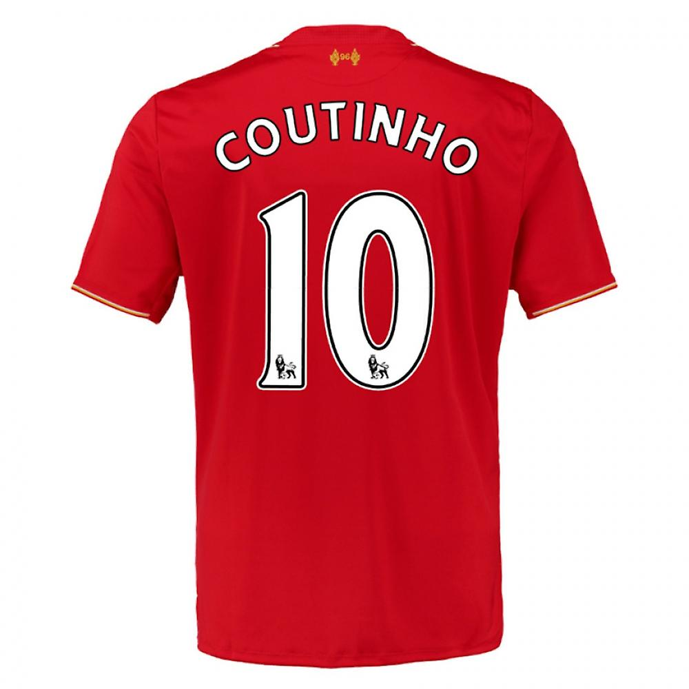2015-16 Liverpool Home Shirt (Coutinho 10) - Kids