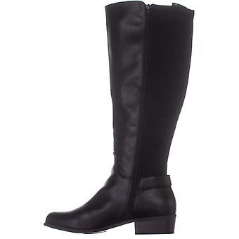 Alfani Womens Kallumm Almond Toe Knee High Fashion Boots