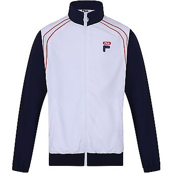 Fila Vaughn Piped Track Jacket White 99