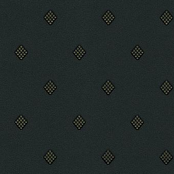 Círculo diamante patrón Glitter fondos oro negro vinilo Diseño Moda