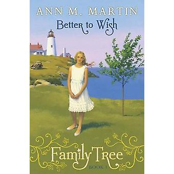 Better to Wish by Ann M Martin - 9780545359429 Book