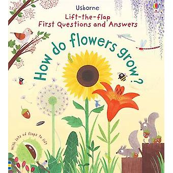 Lift-The-Flap First Questions and Answers How Do Flowers Grow? by Kat