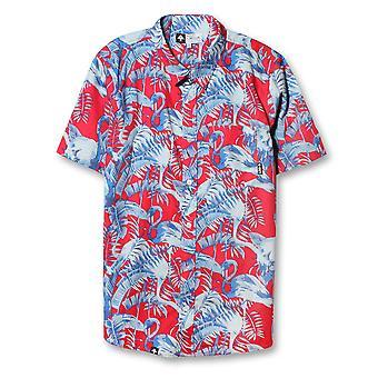 LRG Toucan Do It Short Sleeve Shirt  Watermelon