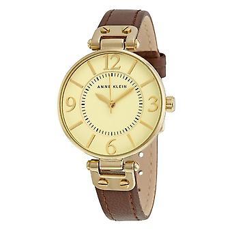 Anne Klein Ladies Watch cuir 10-9168IVBN
