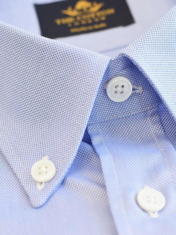 Thomas mason royal oxford light blue shirt