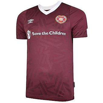 2019-2020 Hearts Umbro Home Football Shirt