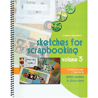 Scrapbook Generation Sketches For Scrapbooking Volume 3 Sg Sv3