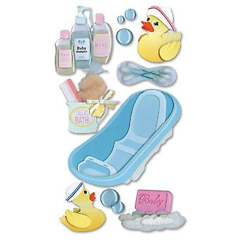 Jolee's Boutique Le Grande Dimensional Sticker Bathtime Spjblg 250