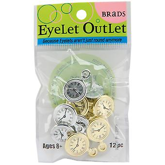 Eyelet Outlet Brads Pocket Watch Qbrd 102A