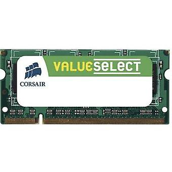 Laptop RAM memory Corsair ValueSelect VS2GSDS667D2 2 GB 1 x 2 GB DDR2 RAM 667 MHz CL5 5-5-15