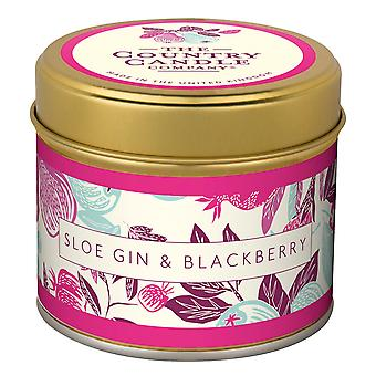 Fragrant Orchard Candle in a Tin - Sloe Gin & Blackberry