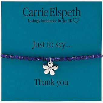 Carrie Elspeth Just To Say Thank You Daisy Flower Bracelet