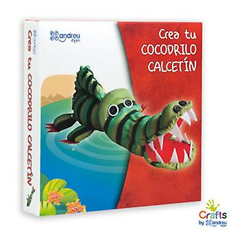 Crafts By Andreu Toys Create Your Alligator Sock (Kids , Toys , Creativity , Crafts)