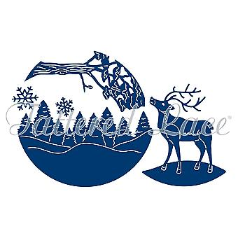 Essentials by Tattered Lace reindeer Scene Die