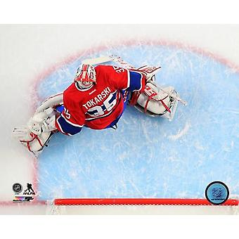 Dustin Tokarski 2014-15 Action Photo Print