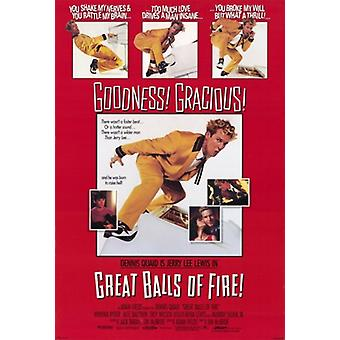 Great Balls Of Fire-Film-Poster (11 x 17)