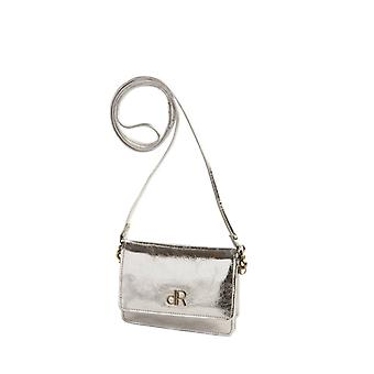 Dr Amsterdam shoulder bag Basil Crackle Silver