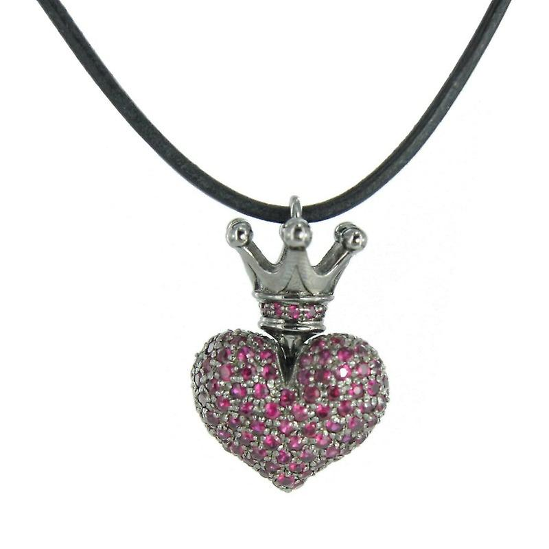 Heartbreaker by Drachenfels Ladies silver pendant necklace LD 52 LP RE-B