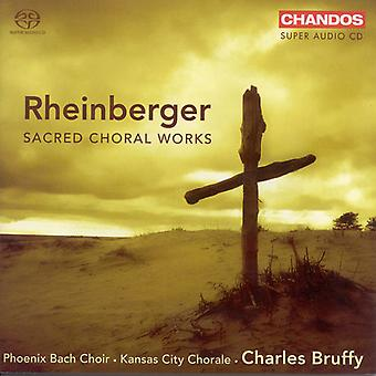 J. Rheinberger - Rheinberger: Heliga körverk [SACD] USA import