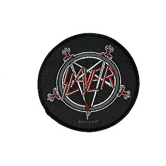 Slayer Pentagram Woven Patch