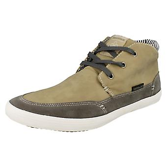 Mens Twisted Faith Casual Lace Up High Top Shoes P74