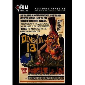 Demens 13 [DVD] USA importerer