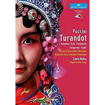 Puccini: Turandot [DVD] USA importerer