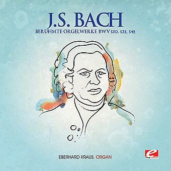 J.S. Bach - Beruhmte Orgelwerke [CD] USA import