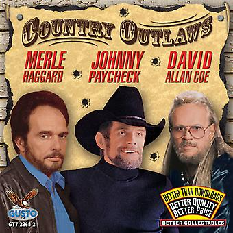 Haggard/Paycheck/Coe - Country Outlaws [CD] USA import
