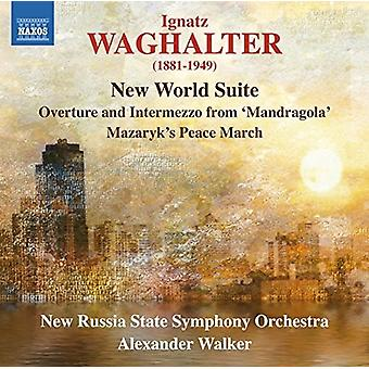 Waghalter / nueva Rusia State Orch Sym / Walker - import USA nuevo mundo Suite [CD]