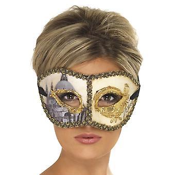 Venezianische Colombina motiv Venedig Augenmaske